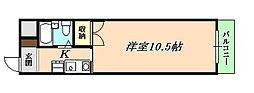ハッピーコート垂水[3階]の間取り