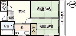 平成ビル[2階]の間取り