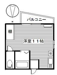 ペアコート[1階]の間取り