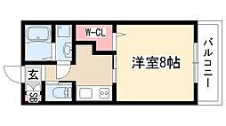 愛知県名古屋市緑区大高町字本町の賃貸アパートの間取り