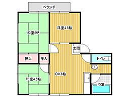 サンライフ碓井[1階]の間取り