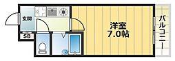パークレーン深江[3階]の間取り