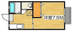 サンシティ3[2階]の間取り