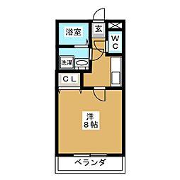 パールマンションVI[1階]の間取り