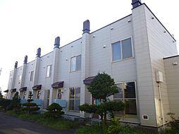 タウンハウス末広A[A-6号室]の外観