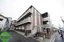 大阪府東大阪市花園東町2丁目の賃貸アパートの外観