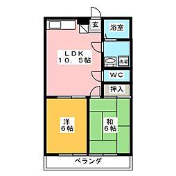 Settle yamamoto[2階]の間取り