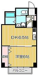 シャンボール武蔵小山[8階]の間取り