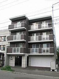 北海道札幌市中央区南四条西22丁目の賃貸マンションの外観
