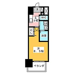 丸東レジデンス大須[2階]の間取り