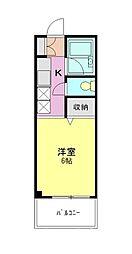 十番館[1階]の間取り