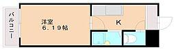 シンプルライフ井尻[2階]の間取り