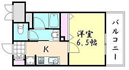 Fujiman北山町[203号室]の間取り