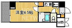 リーガル京都河原町III[901号室号室]の間取り