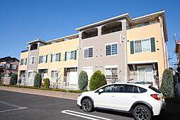 埼玉県越谷市花田4丁目の賃貸アパートの外観