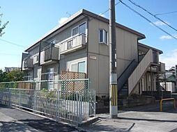 大阪府茨木市目垣2丁目の賃貸アパートの外観