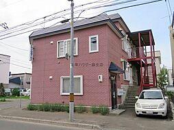 北海道札幌市北区新琴似一条11丁目の賃貸アパートの外観