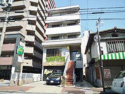滋賀県大津市栄町の賃貸マンションの外観