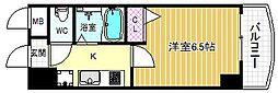 HOPECITY天神橋[12階]の間取り