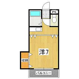 あめにてぃー[2階]の間取り