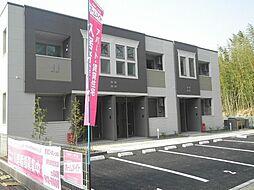 袖ケ浦市奈良輪2621番地新築アパート[102号室]の外観