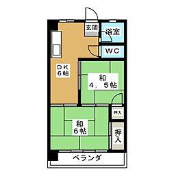 福谷ビル[3階]の間取り