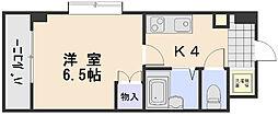第2植野ビル[3階]の間取り