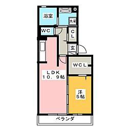 仮)D−room三ヶ名[2階]の間取り
