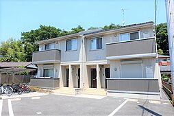 東京都昭島市拝島町1丁目の賃貸アパートの外観