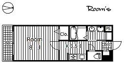 ラ・シャンス[306号室]の間取り