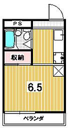 グリーンハイツ田島[111号室]の間取り