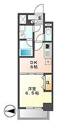 MEIBOU TESERA(メイボーテセラ)[3階]の間取り