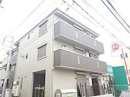 東京都江戸川区南小岩7丁目の賃貸アパートの外観