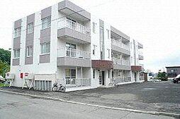 北海道札幌市西区平和一条6丁目の賃貸マンションの外観