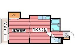 ローヤルハイツ月寒東5[7階]の間取り