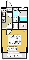 アルファコート蕨[10階]の間取り
