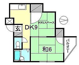 セキヤハイツ[101 号室号室]の間取り