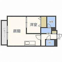 PRIME URBAN円山[8階]の間取り