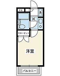 モンシャトー浦安[3階]の間取り