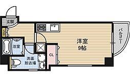 ライブコート北梅田[6階]の間取り