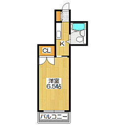 シャイニング桃山[303号室]の間取り