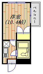 モンテリサイア淵野辺 305号室[3階]の間取り