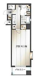 サヴォイジアトリウム[3階]の間取り