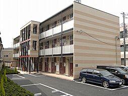 埼玉県草加市花栗3丁目の賃貸アパートの外観