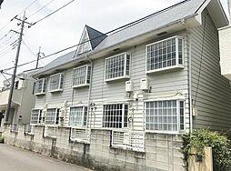 埼玉県草加市旭町6丁目の賃貸アパートの外観