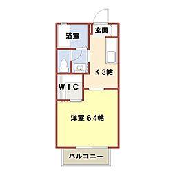 カームM[2階]の間取り