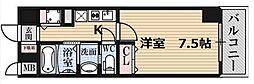 JPレジデンス難波南[8階]の間取り