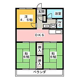 プロシード/S[3階]の間取り