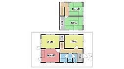 [一戸建] 兵庫県西宮市甲子園一番町 の賃貸【/】の間取り
