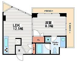 La Suite(ラ・スイート)[3階]の間取り